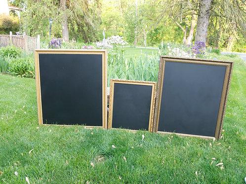 Gold Chalkboard