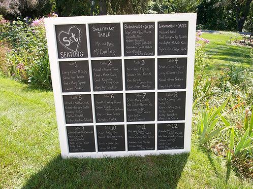 Chalkboard 16 Wndow Pane