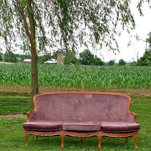 Lavendar Sofa