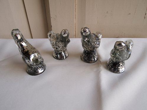 Mercury Glass Birds