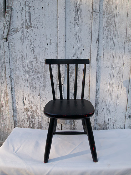 Doll Wooden Chair