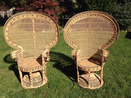 Fan-back Peacock Chair