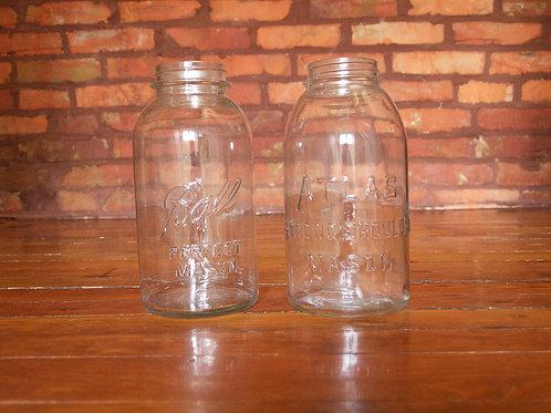 Half Gallon Mason Jars