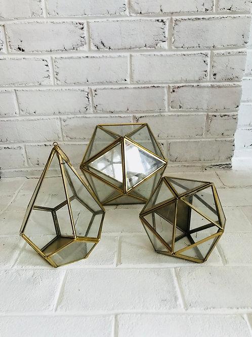 Geometric Lanterns/Terrariums