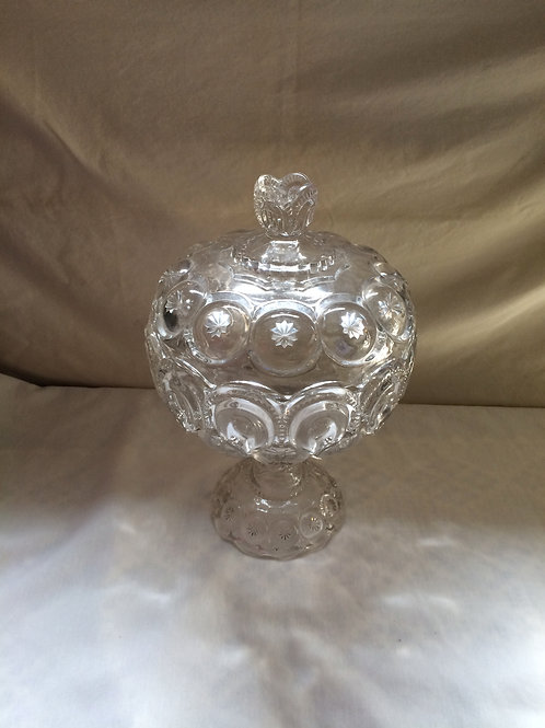 Large Glass Candy Dish