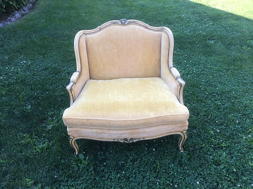 Light Yellow Sweetheart Settee