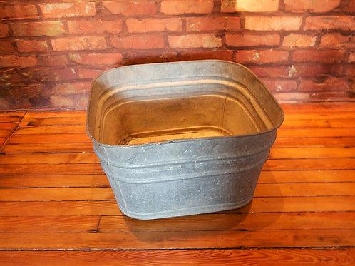 Square Galvanized Tub