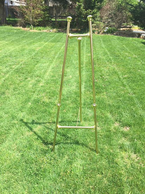 Gold Plated Easel