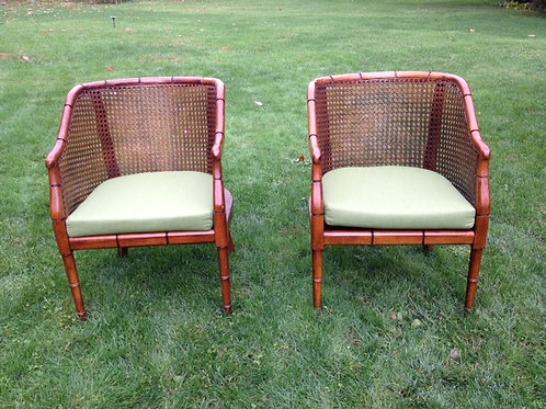 Wicker Club Chair