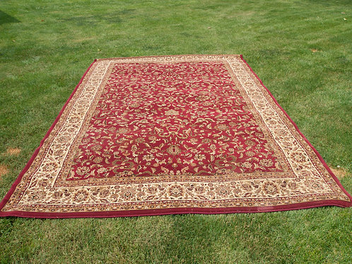 Large Red Oriental Rug (8'x13')