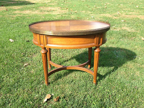 Small Oval Side Table