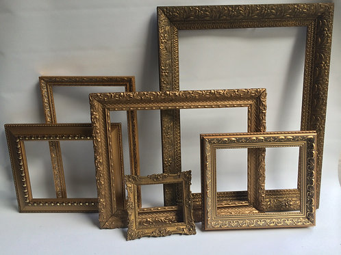 Gold Frame Medium