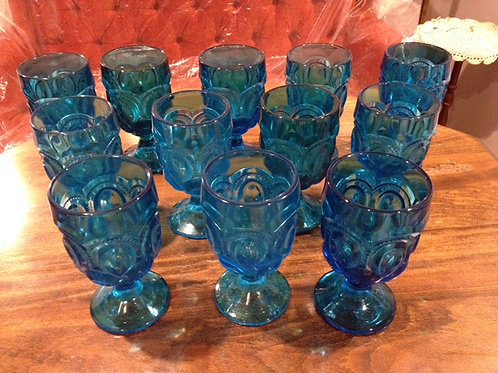 Blue/Turquoise Goblets