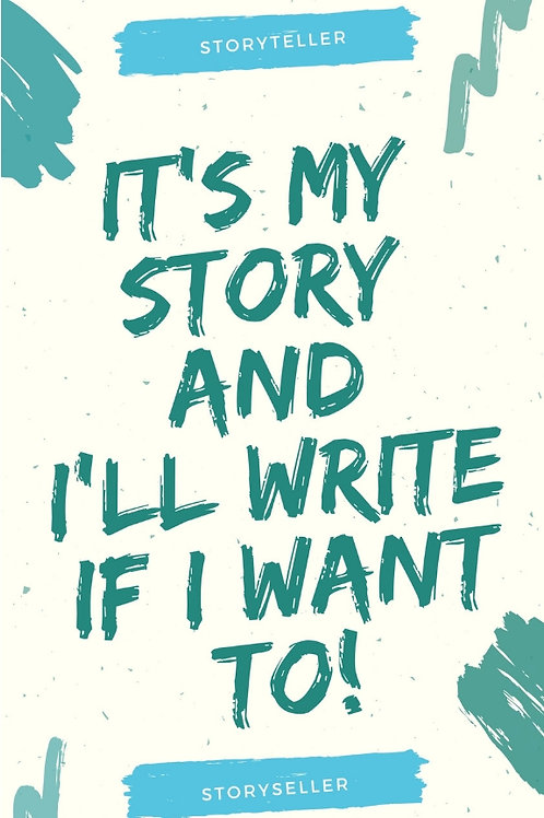 It's My Story- Journal