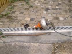 mechanical drain clearing