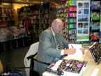 Signing The Glaas Dagger, Book 1 of the Tudor Queen's Glassmaker Series