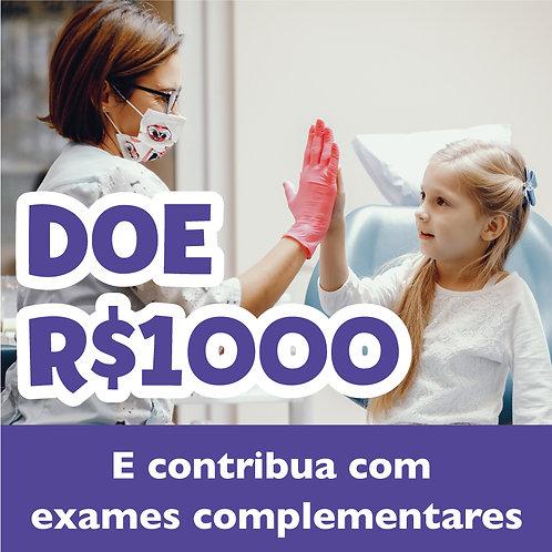 Doe R$1.000,00