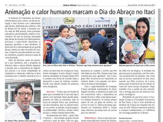 DIÁRIO OFICIAL DESTACA O DIA DO ABRAÇO DO ITACI.