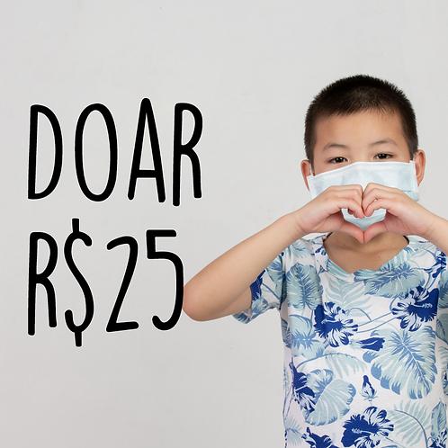 Doe R$ 25,00