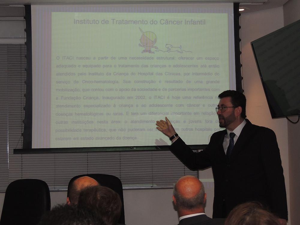 Vagner Carvalho - Superintendente Fundação Criança