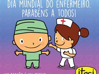 12 DE MAIO - DIA INTERNACIONAL DO ENFERMEIRO. PARABÉNS A TODOS OS PROFISSIONAIS!!!