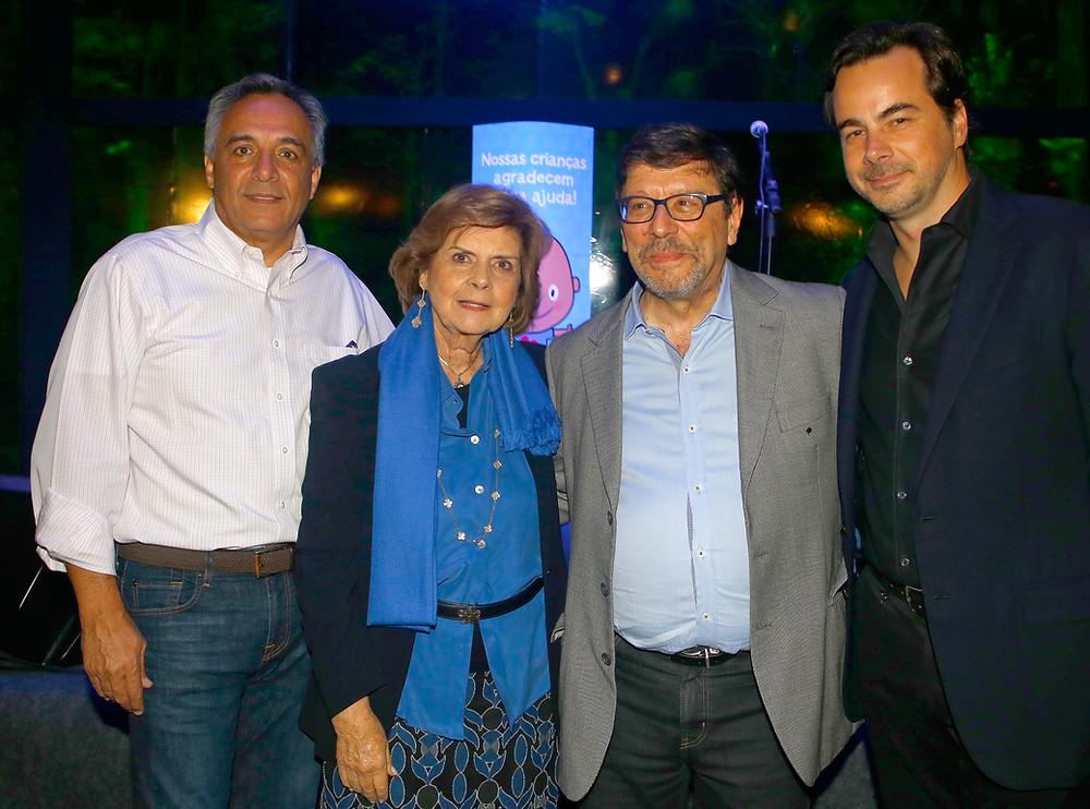 Fernando Lomonaco, Anna Helena Americano Araújo, Vicente Odone Filho e Gabriel de Charbonnieres