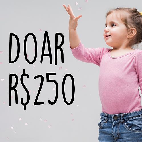 Doe R$ 250,00