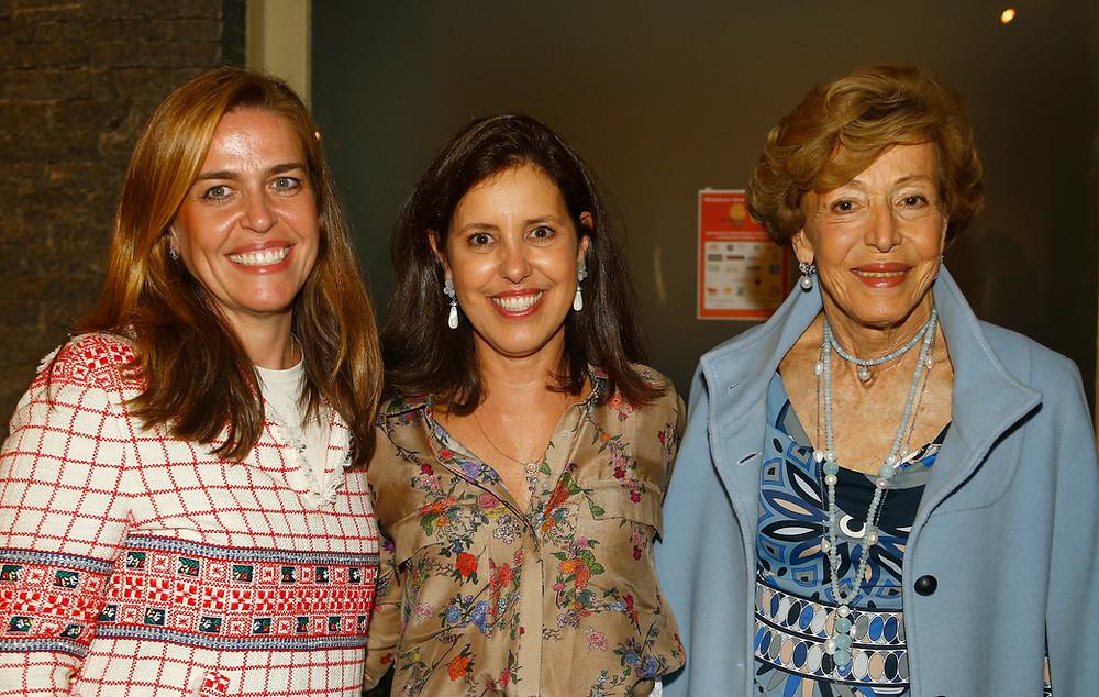 Lucila Moura Andrade, Trix Araújo e Thereza Samaja