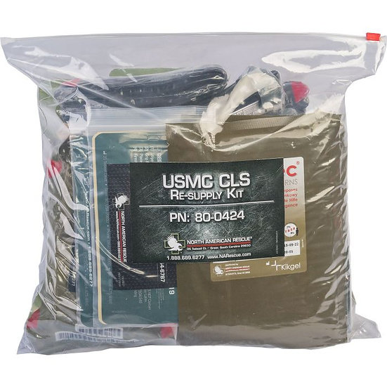 USMC Combat Lifesaver Resupply Kit