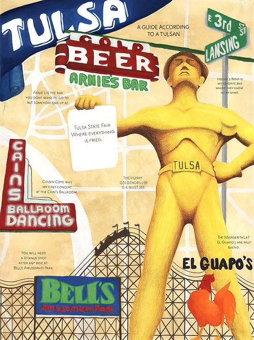 Tulsa, Oklahoma Poster