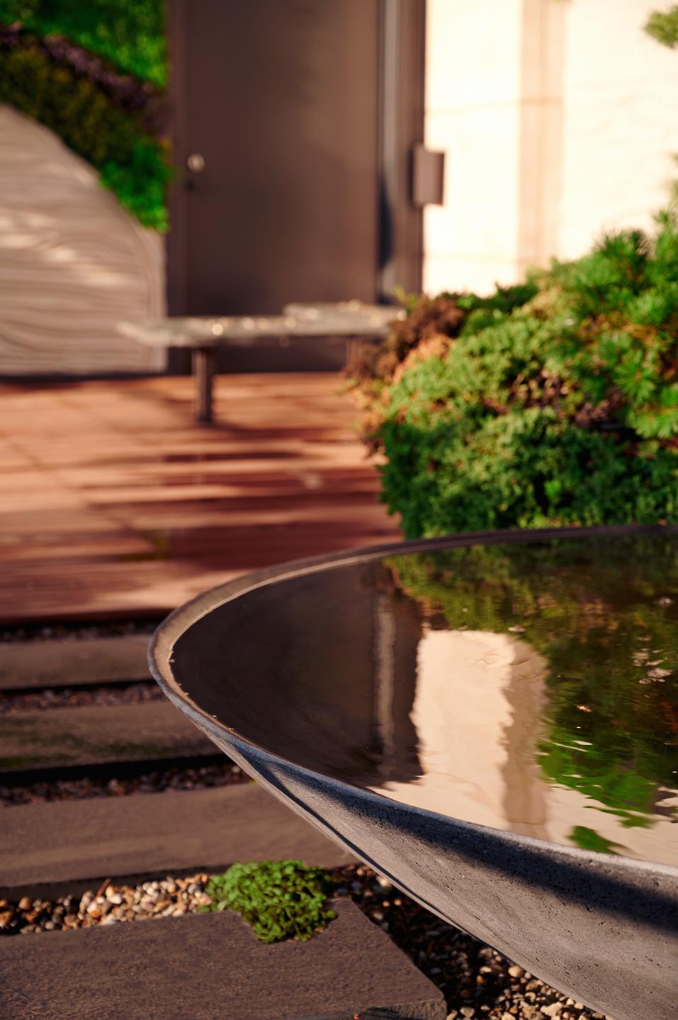 Detail of Ukiyo Fountain