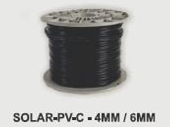 6mm Black PV Cable (sold per 10metres)