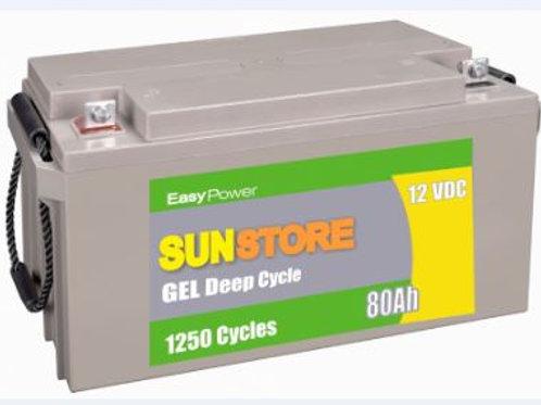 HXG12-100A Deep Cycle Gel Battery 100Ah / 12VDC