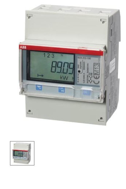 CONTROL UNIT;METER;REACT-MTR-3PH;ABB