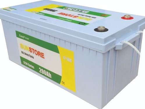 HXG12-200A Deep Cycle Gel Battery 200Ah/12VDC
