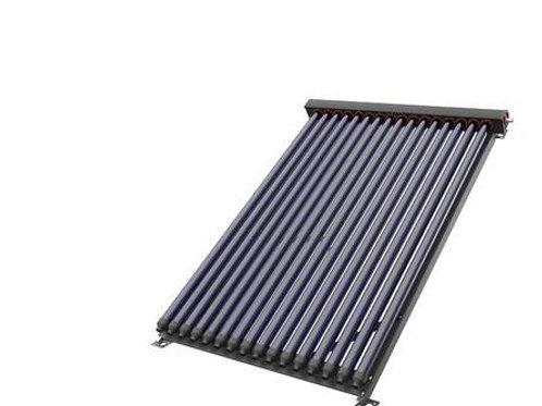 15 Tube solar manifold & frame