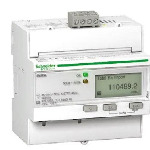 Schneider Electric iEM3200 LCD Digital Power Meter, 10-Digits, 1, 3 Phase