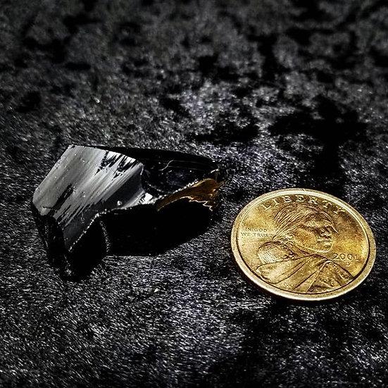Pocket Stone - Raw Obsidian