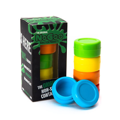 NoGoo -Silicone Concentrate Container - Asst. Color