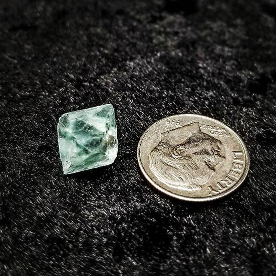 Pocket Stone - Fluorite Octahedron