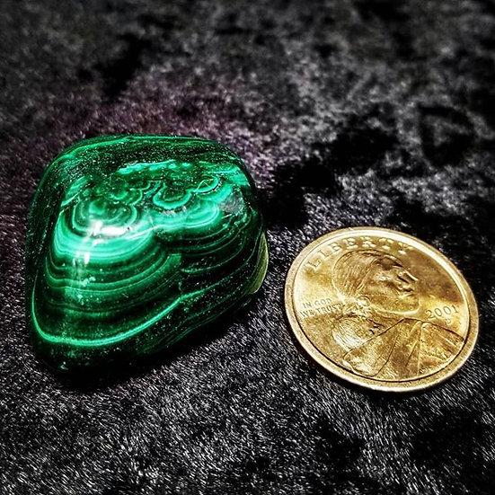 Pocket Stone - Malachite