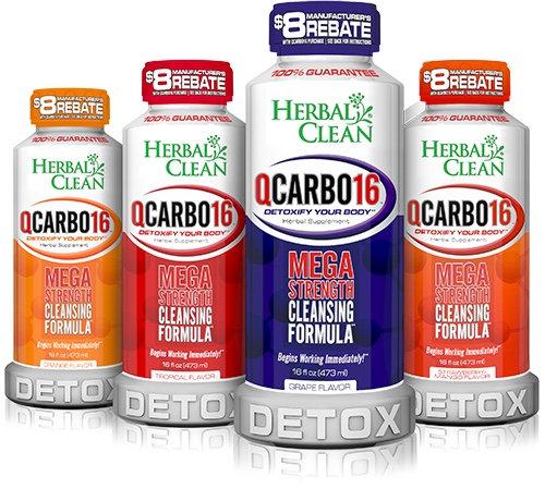 Herbal Clean - QCarbo16 - Cleansing Formula