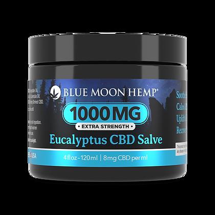 Blue Moon Hemp - Eucalyptus CBD Salve - 1000mg