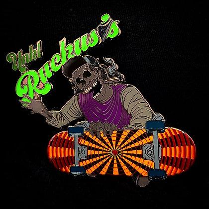Ruckus - Signature Glow In The Dark Hatpin