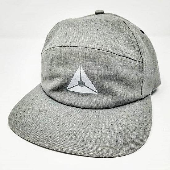 Clokworq - Five Panel Adjustable Hat - Grey