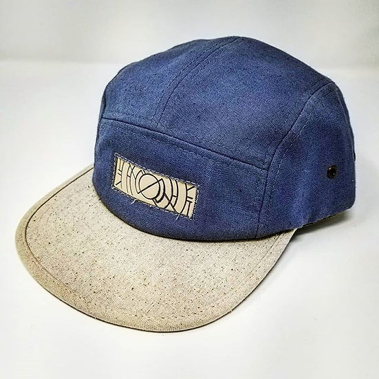 Clokworq - Five Panel Adjustable Hat - Blue