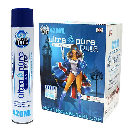 Special Blue - Ultra Pure Butane Plus - 420ML