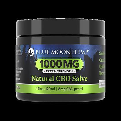 Blue Moon Hemp - Natural CBD Salve - 1000mg