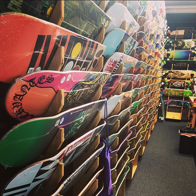 We have a ton of skate decks in and read