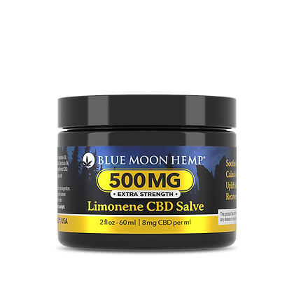 Blue Moon Hemp - Limonene CBD Salve - 500mg